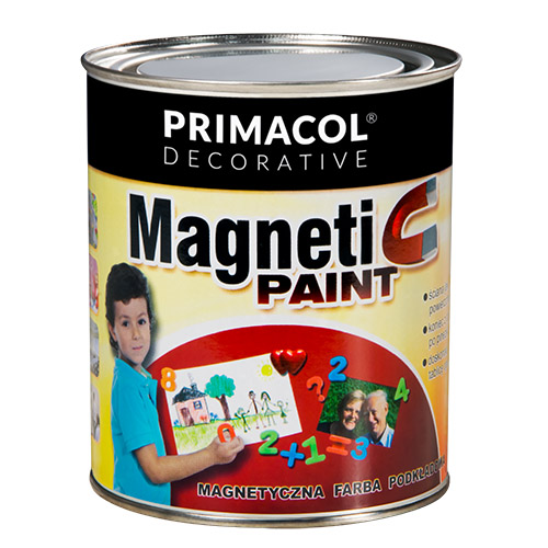 Primacol Decorative «Magnetic Paint». Краска магнитная